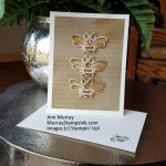 Vintage Bees Card using Honey Bee Bundle from Stampin' Up!
