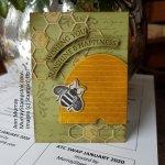 ATC – Vintage Bee