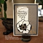 Poppy Power Card in Neutral Colors