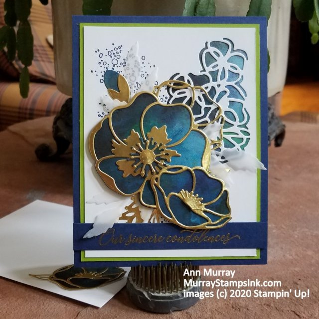 Blue & Gold Poppies