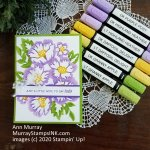 BLOSSOMS IN BLOOM – STAMPIN' BLENDS